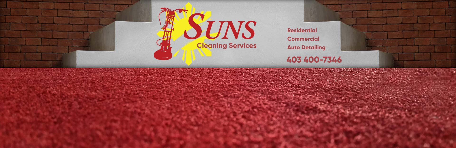 Suns Carpet Cleaning service in Calgary